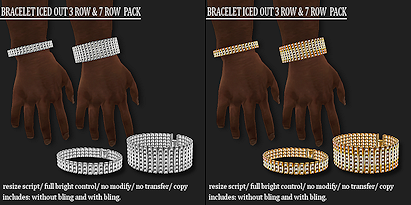 BRACELET ICED OUT PACK